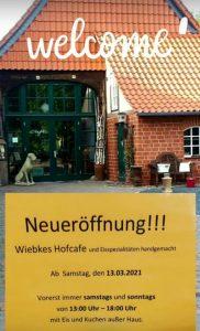 Wiebkes Hofcafé, Herbst-Hof Fredelsloh
