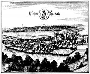 Closter Fredeslo_um 1654 Matthäeus Merian