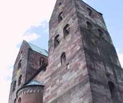 Die Türme der Klosterkirche, Fredelsloh